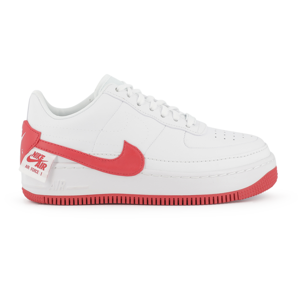 air force one blanche rouge femme